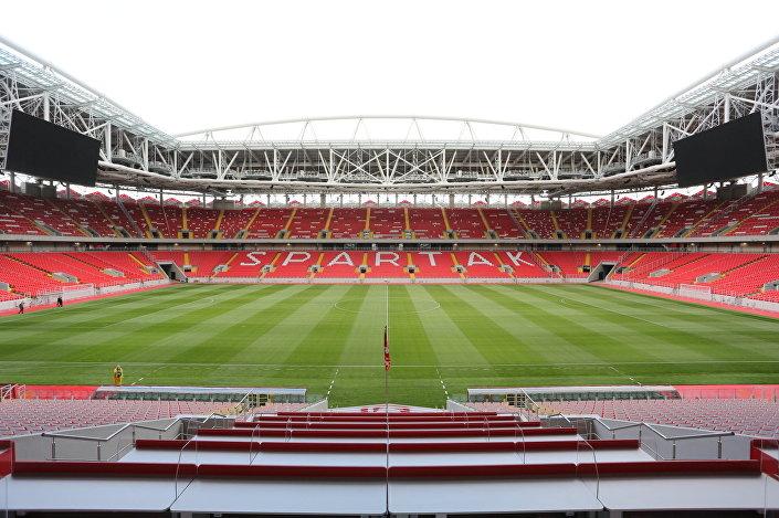 Estádio Spartak visto de dentro, Moscou