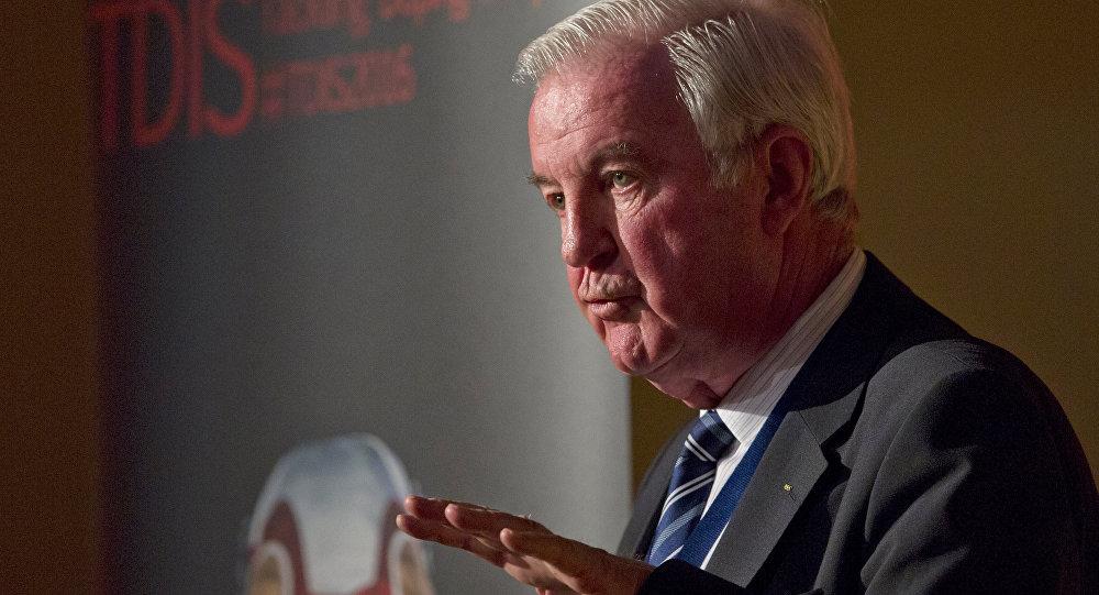O presidente da Agência Mundial Antidoping (WADA), Craig Reedie