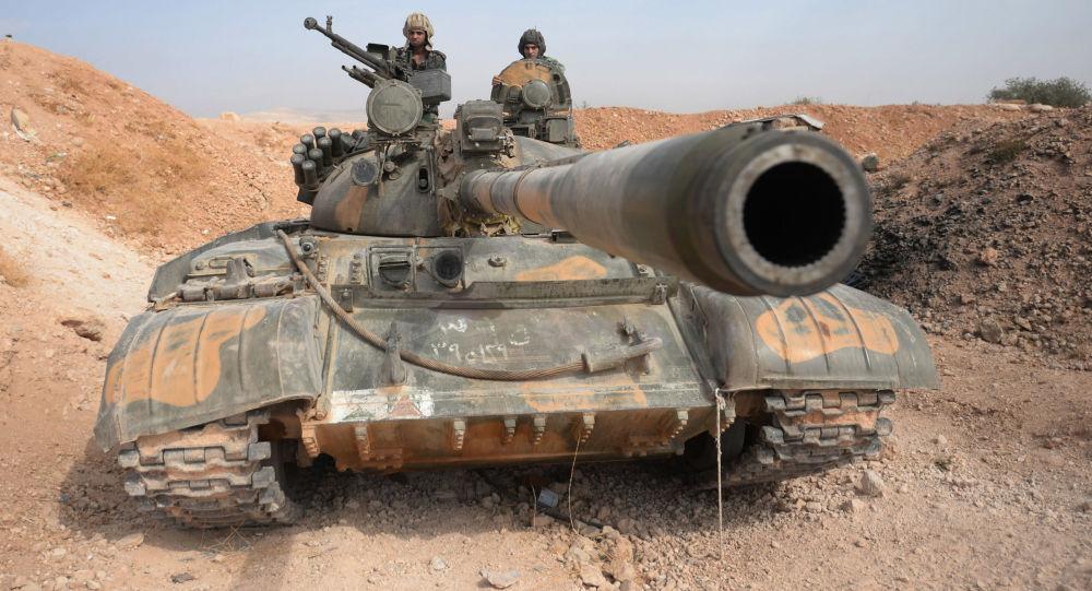 Tanque T-72 na Síria (foto de arquivo)