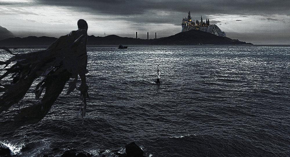 Dementor, a criatura maligna que aparece na saga de Harry Potter