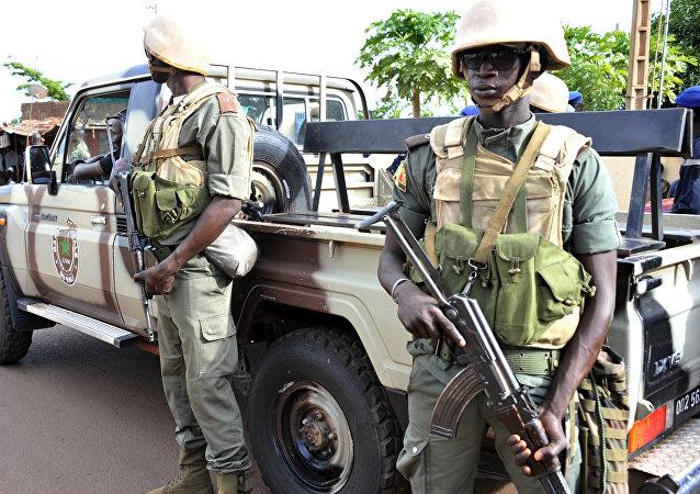 Militares do Mali (foto de arquivo)