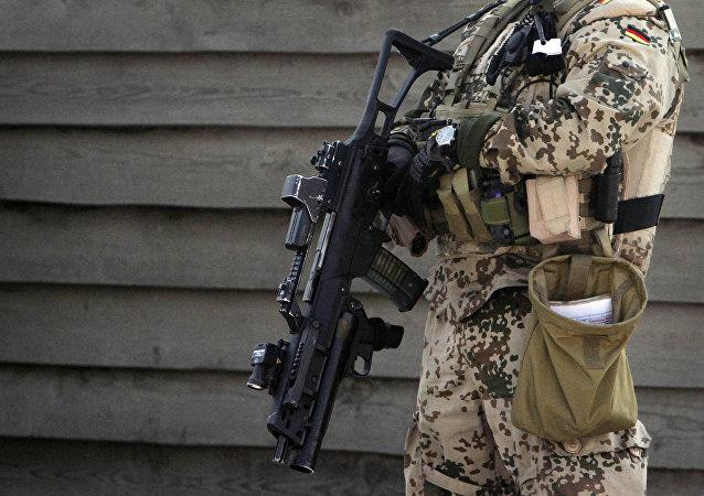 Soldado alemão no Afeganistão (foto de arquivo)
