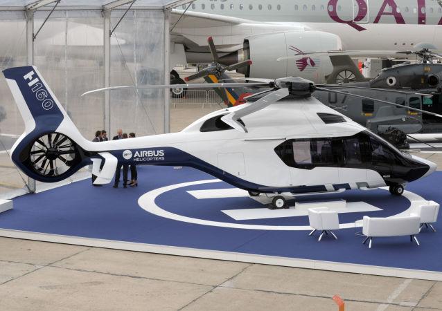 Helicóptero militar francês H160 (imagem referencial)