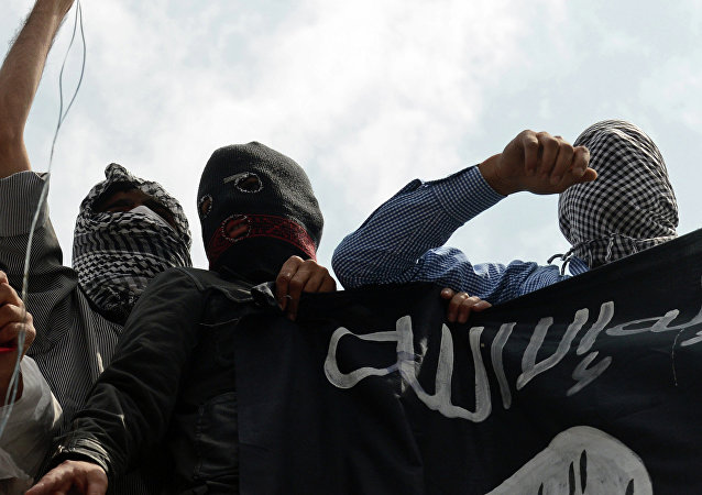 Militantes do grupo terrorista Daesh (foto do arquivo)