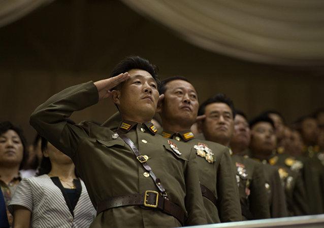 Soldados norte-coreanos (arquivo)