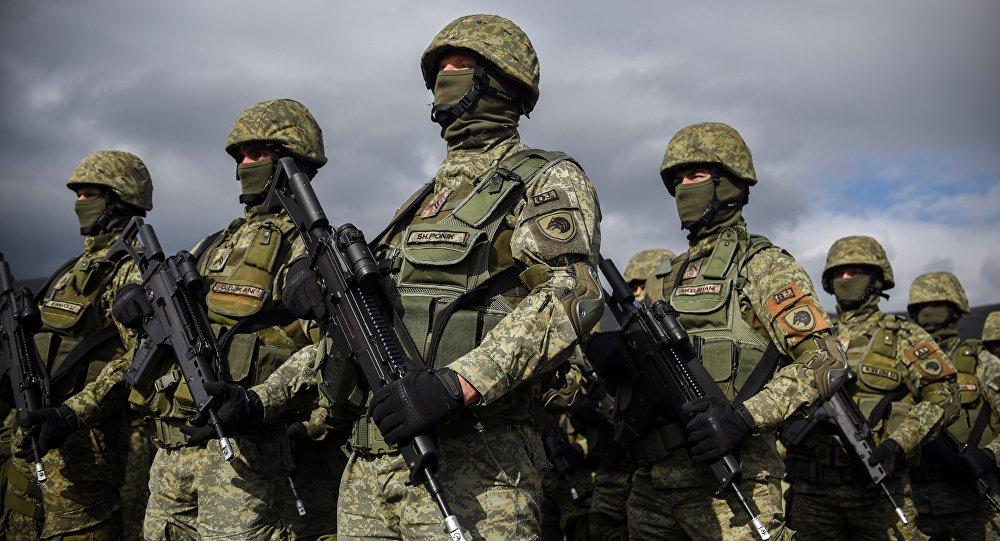 Membros da Força da Segurança do Kosovo