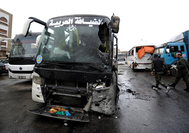 Ataque terrorista em Damasco, na Síria, em 11 de março de 2017