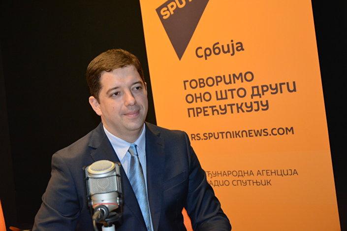 Marko Djuric, chefe do Gabinete para o Kosovo e Metohija