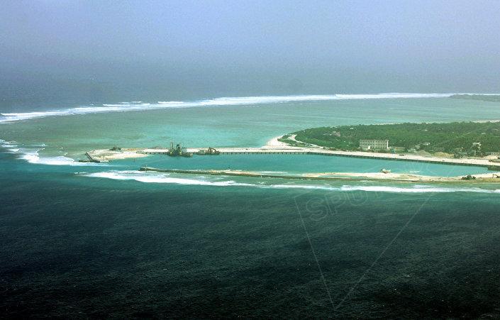 Ilhas Paracel, região disputada no mar do Sul da China