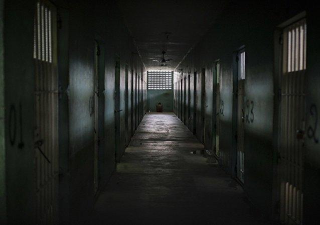 Os detentos ficaram em suas celas durante a manifestação dos agentes penitenciários
