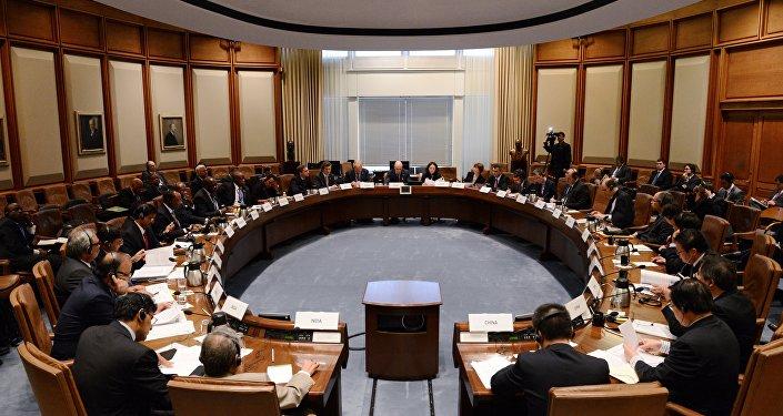 Reunião de autoridades financeiras dos países do BRICS