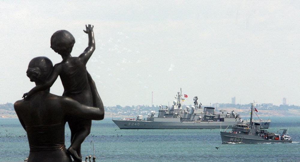 Navios da OTAN chegam para Odessa, Ucrânia (imagem referencial)