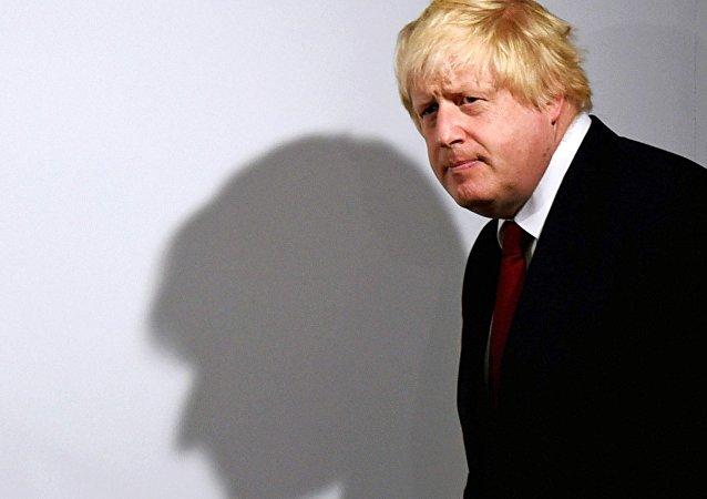 Ministro das Relações Exteriores do Reino Unido, Boris Johnson (foto de arquivo)