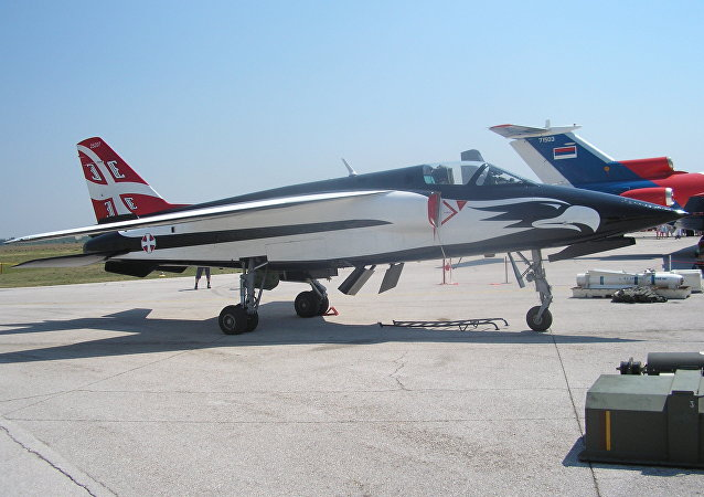 Avião sérvio J-22 Orao