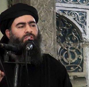 Abu Bakr al-Baghdadi, ex-líder do Daesh (organização terrorista proibida na Rússia)