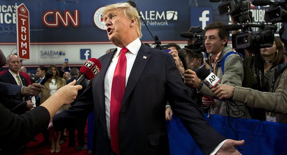 Trump e CNN