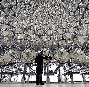 Cientistas alemães criam maior sol artificial