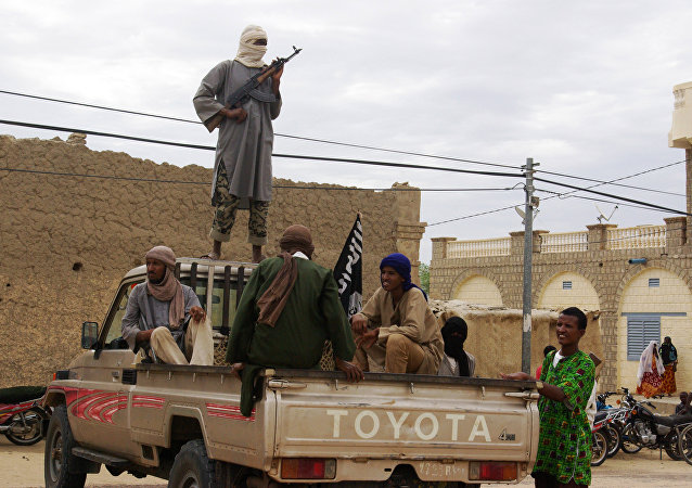 Militantes islamitas ligados à Al-Qaeda, Timbuktu, Mali (foto de arquivo)