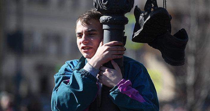 Protestos contra a corrupção na Rússia têm quase mil detidos