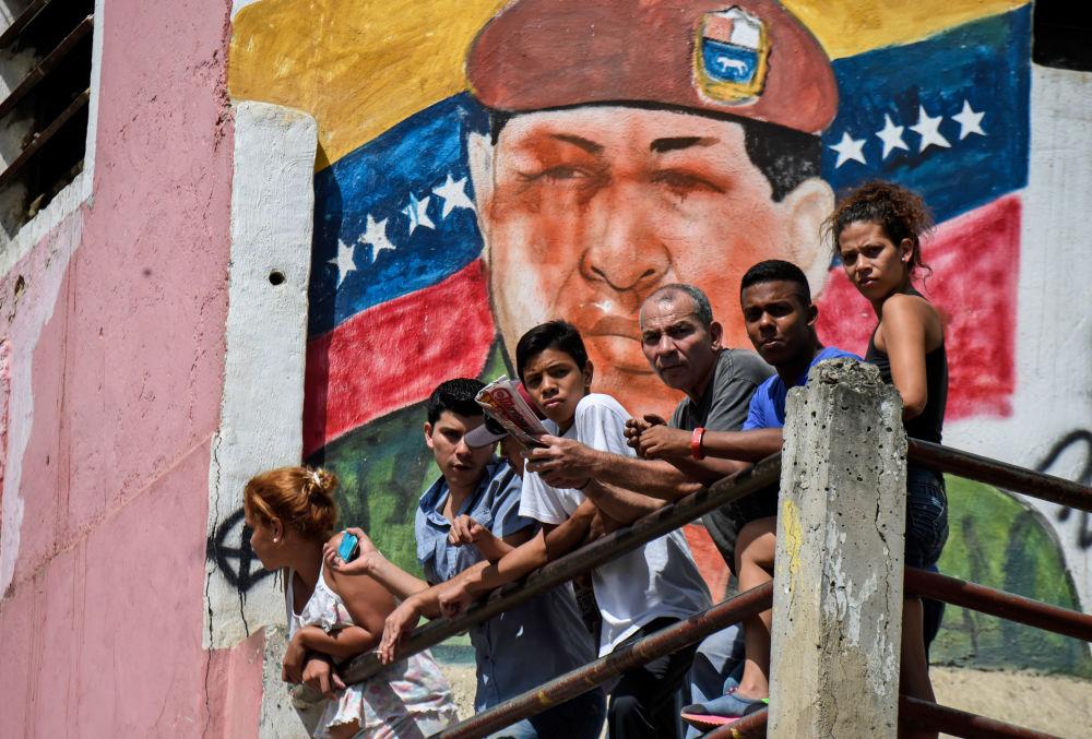 Hugo Chávez, Caracas