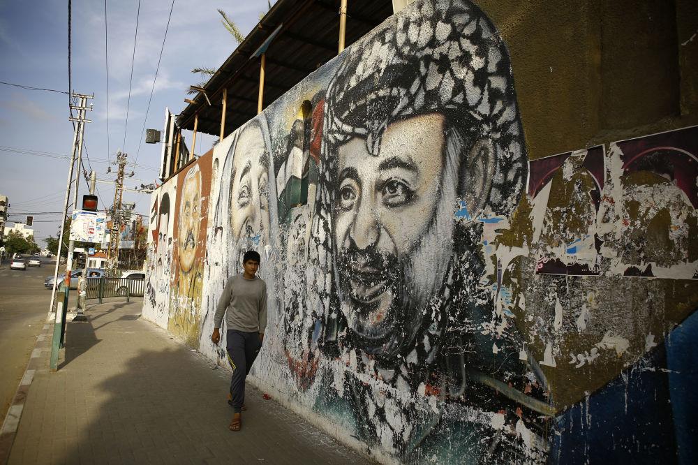 Yasser Arafat, Gaza