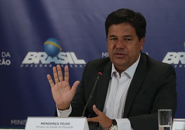 Ministro da Educação Mendonça Filho