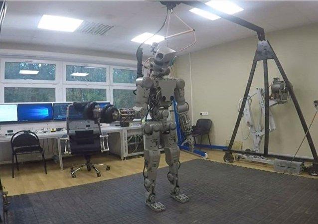O robô Fyodor
