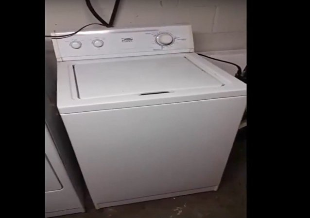 Máquina de lavar musical
