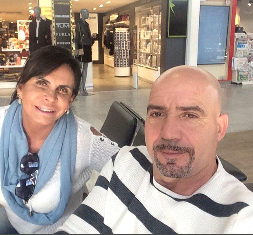 Gretchen e o marido, o empresário português Carlos Marques
