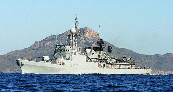 Navio de patrulha espanhol