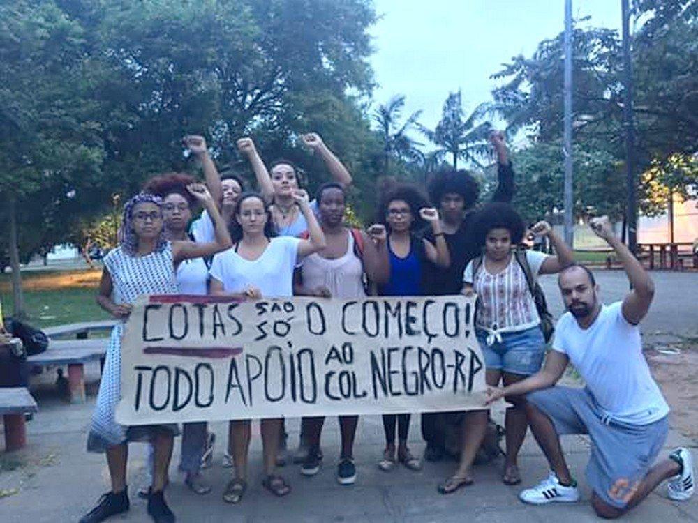 Segundo o coletivo Ocupação Preta, cotas foram só o começo da luta, agora os racistas não passarão