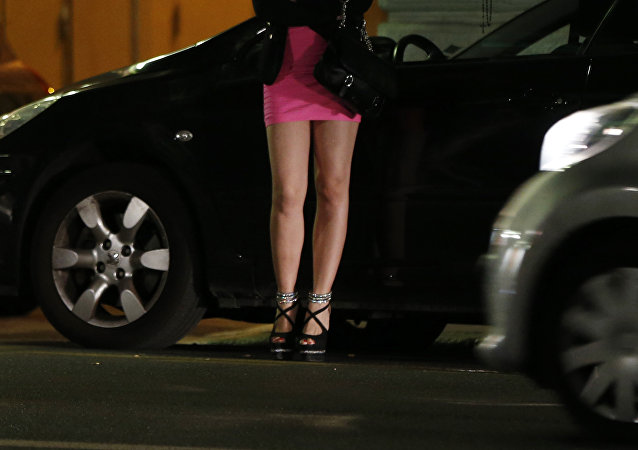 Uma mulher prostituta