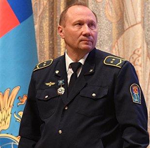 Aleksandr Kaverin, maquinista do trem do metrô de São Petersburgo no qual aconteceu o atentado em 3 de abril de 2017