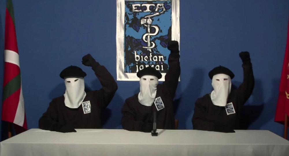 Membros do grupo armado ETA