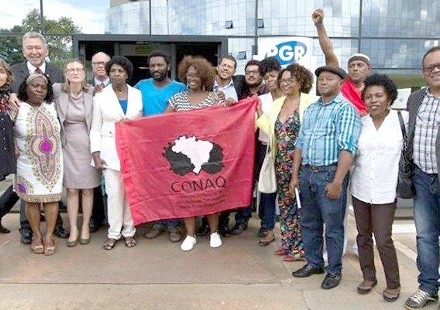 Representantes do movimento negro e quilombola e deputados federais denunciaram Bolsonaro por racismo à Procuradoria-Geral da União