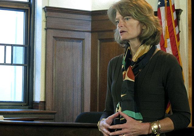 Presidente da Comissão do Senado para Energia e Recursos Naturais do senado dos EUA, Lisa Murkowski.