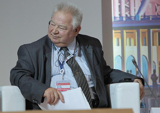 O cosmonauta soviético Georgy Grechko
