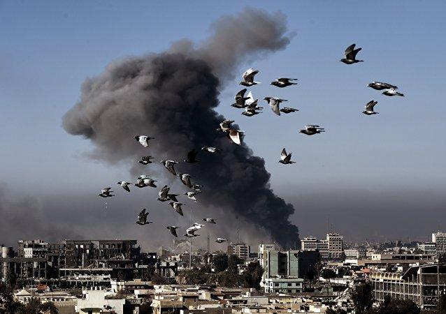 Situação no oeste de Mossul, março de 2017