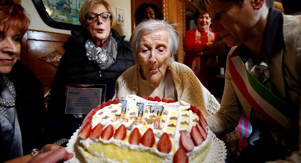 Mulher mais velha do mundo Emma Morano