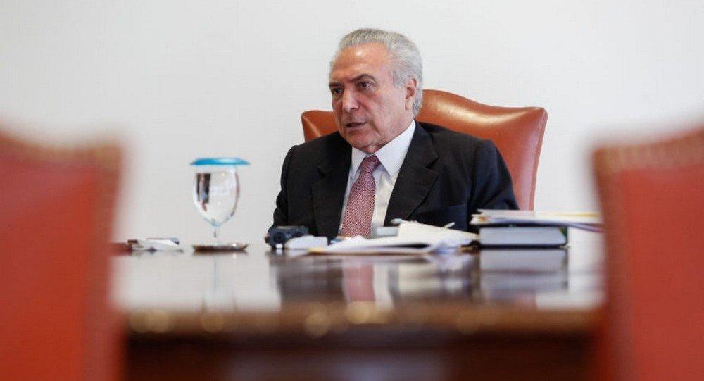 Temer nega qualquer acordão com os ex-presidente FHC e Lula sobre crise política com delações da Lava Jato