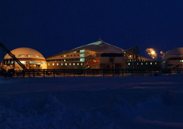 Base militar russa na região do Ártico