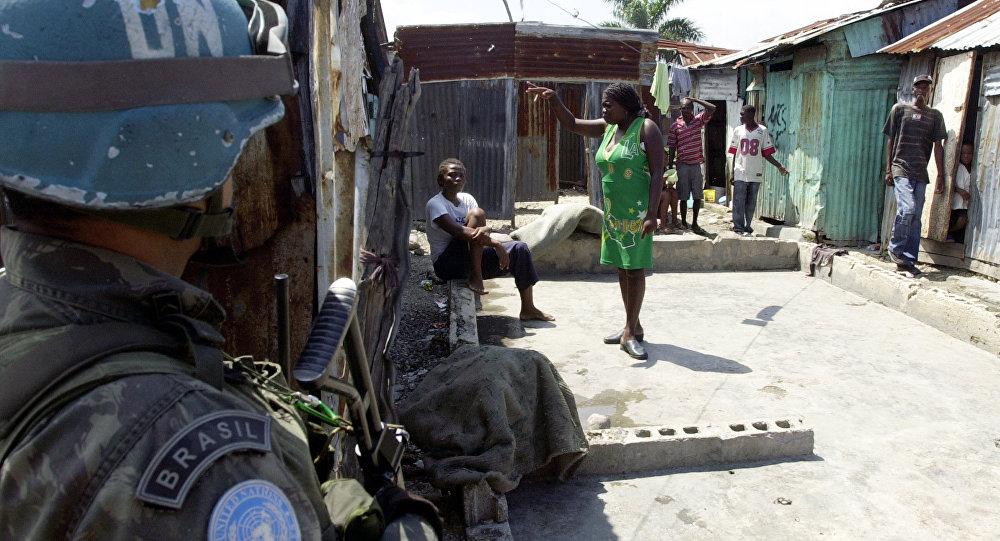 ONU reconhece abuso de tropas em vários países, entre eles o Haiti