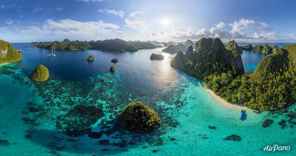 Ilha Vayag, no arquipélago de Raja Ampat, Indonésia