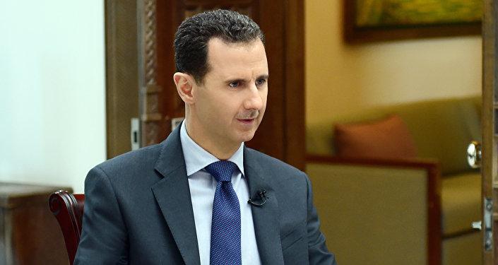 Presidente da Síria, Bashar Assad
