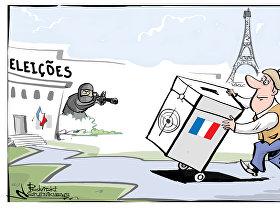 Eleições presidenciais franceses na mira do Daesh