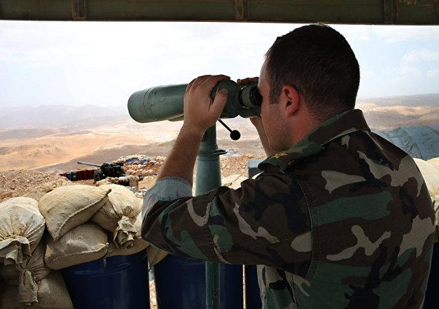 Militar do exército libanês (foto de arquivo)