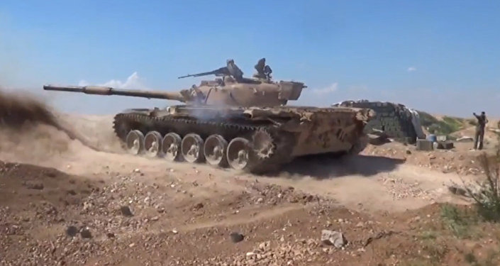 Exército sírio está combatendo contra terroristas no norte de Hama (VÍDEO)