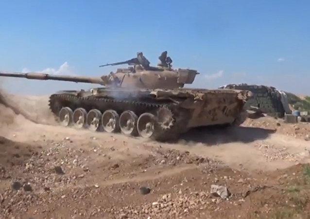 Exército sírio está combatendo terroristas no norte de Hama (arquivo)