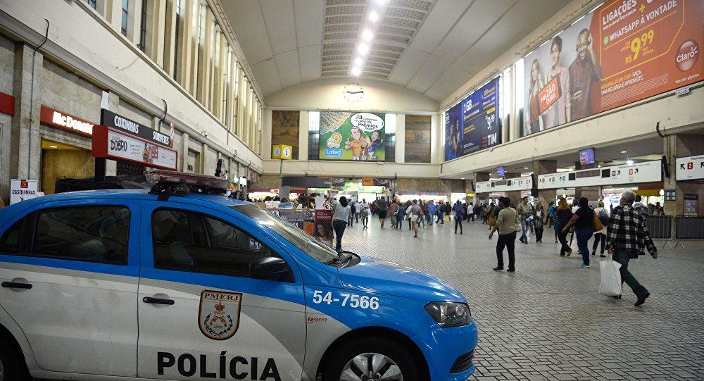 Movimento reduzido na Central do Brasil