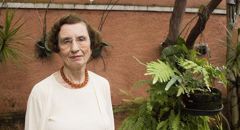 Anita Prestes, filha de Olga Benário y Luís Carlos Prestes